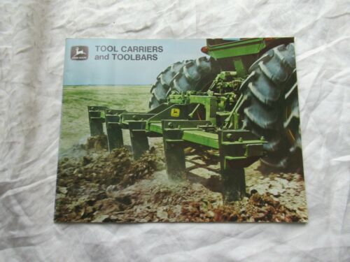 John Deere tool toolbar carrier brochure