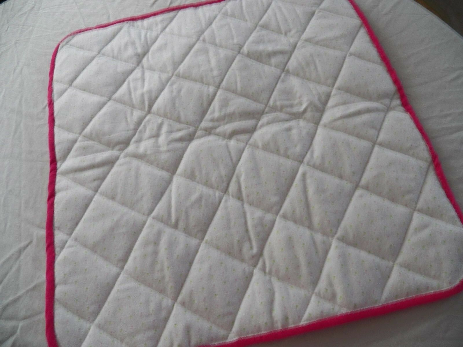BABY CHANGING PAD Portable Diaper Travel Mat Cotton Washable Padded Handmade NEW 10