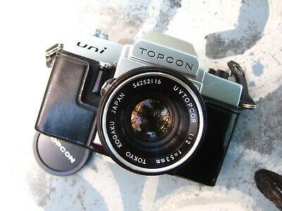 Appareil Photo Topcon Uni + 35 mm f2 +135mm
