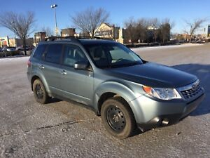 Subaru Forester 2011;  2.5X LIMITED; 2.5L 4cylinder engine