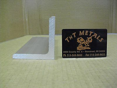 14 Aluminum Angle 3 X 3 X 12 Long Structural 6061 Mill Finish