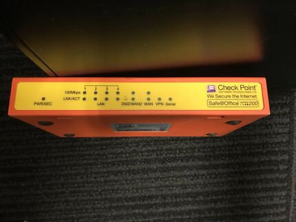 Checkpoint Safe@office 200 security appliance (firewall/VPN) Randwick Eastern Suburbs Preview