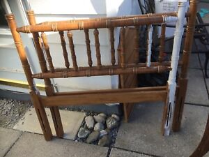 $10 for Frame- Headboard for top and bottom- no rails/slats!!!