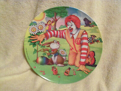 Vintage 2001 McDonald's Easter/Spring Collector Plate - NEW
