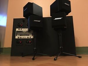 BOSE Acoustimass AM-5 with stands