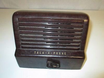 Vintage Bakelite Talk-a-Phone Intercom System Model LR-3 Sub Station