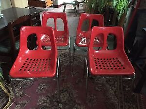 MID CENTURY PLASSON CHAIRS