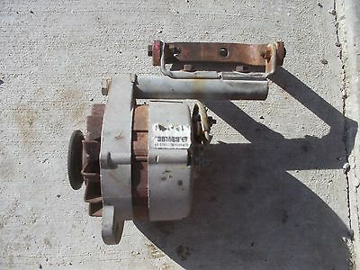 Farmall Tractor Good Working 12v Alternator With Ih Mounting Bracket