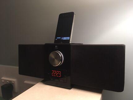 iPhone + Logitech Pure-Fi Express Plus Speakers