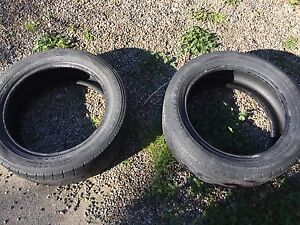 2 car tires for sale