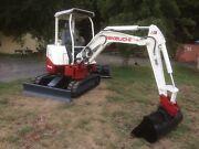 Takeuchi tb28fr excavator Baw Baw Area Preview