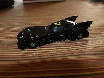 Vintage 1989 Ertl Batman Batmobile 1/64 Scale Die-Cast Metal Car