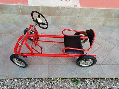 Usado, Macchina Pedali Go Kart Vintage Epoca Made Bologna segunda mano  Embacar hacia Spain