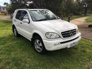 2002 Mercedes-Benz ML 320 SUV Preston Darebin Area Preview