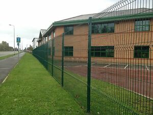 Wire V Mesh Security Fencing 2m high x 3m wide also 1.8m & 2.4m high & Paladin