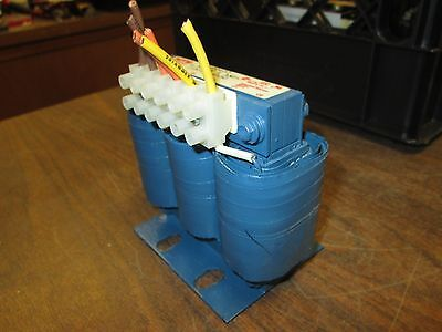 Mte Line Reactor Rl-00402 6.50mh 4a Used