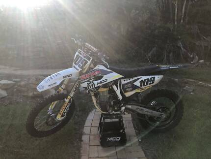 Husqvarna 450 FC 2015 Helensburgh Wollongong Area Preview