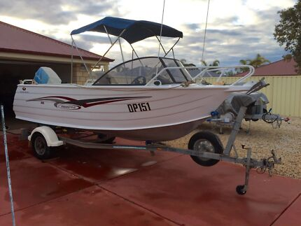 2010 Trailcraft Freestyle 4.65m Front steer with trailer Whyalla Whyalla Area Preview