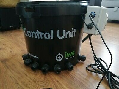 IWS Flood and Drain Basic Brain Attached Timer Pot System Auto Feed Hydroponics