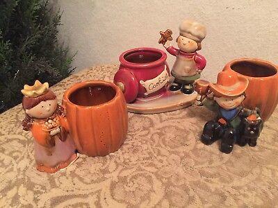 New Yankee Candle 🎃 2 Pumpkin  Halloween 1 🌲Christmas Tea Light - Halloween Tea Light Holders