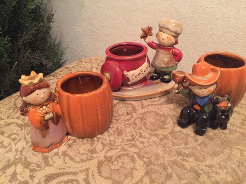 New Yankee Candle 🎃 2 Pumpkin  Halloween 1 🌲Christmas Tea Light Holders