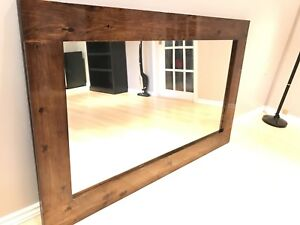 Glamorous handmade large mirror frame