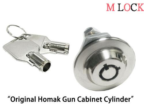 """Gun Cabinet Original Homak toolbox lock 5/8"""" Replacement Lock Keyed Alike 2417"""