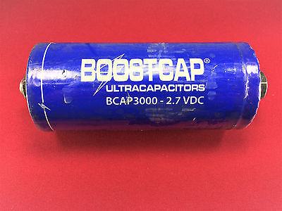 Maxwell Bcap3000 Boostcap Ultracapacitor Capacitor 3000 Farads 2.7vdc