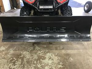 """60"""" polaris plow. Click and go.  2015 and up sportsman"""