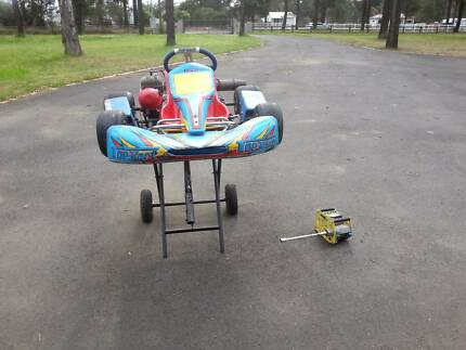 100cc Yamaha KT100J Go Kart with clutch Londonderry Penrith Area Preview