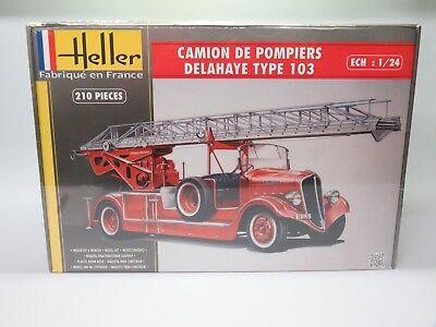 HELLER® 80780 Camion de Pompiers Delahaye Type 103 in 1:24