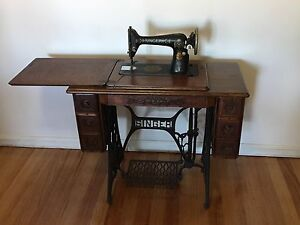 Antique Singer Sewing Machine For Sale Antiques Art