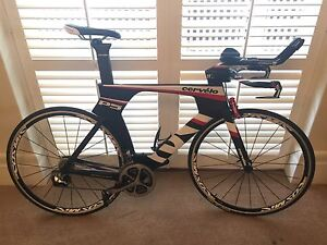 TT Bike Cervelo 2015 P5-6 Dura-Ace Di2 56cm with extra shifters South Yarra Stonnington Area Preview
