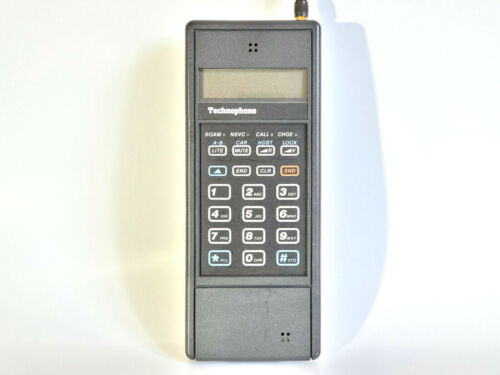 TECHNOPHONE WALKER WMCD-8000 - MOBILE PHONE BRICK CELL VINTAGE RETRO RARE