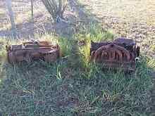 2 x old rusty motors -garden ornament Thagoona Ipswich City Preview