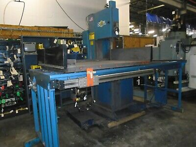 Doall 2018-dw60 Cnc Vertical Plate Saw Fanuc Control New 2009