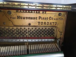 Antique Newcombe piano