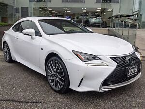 2015 Lexus RC 350 F Sport Series 2 No Accidents 1 Owner Navi