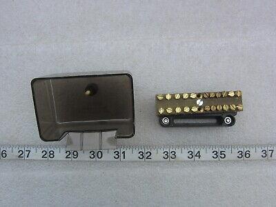 Clipsal Xx3 12-position 100a 500v Neutral Terminal Link Bar Used