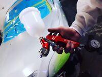 Experienced automotive painter/detailer