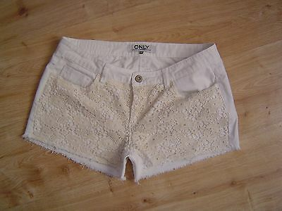 Only  Jeans  W28 W29  Shorts  Hot Pant Carrie Low  Lace Shorts      Top Zustand gebraucht kaufen  Anning
