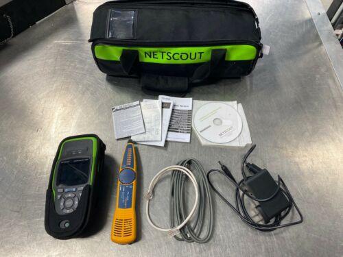 NetScout LinkRunner LRAT AT 2000 Deluxe Kit with Fluke Intellitone Pro