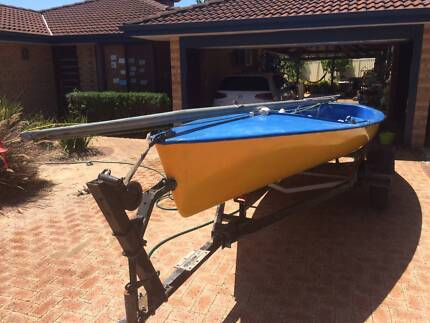 16' Corsair Sailing Dinghy and trailer