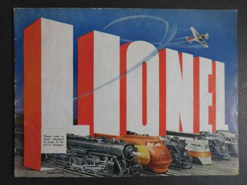 Scarce Original 1938 Lionel Electric Trains Catalog 50 pgs. Gary Nelson Coll.