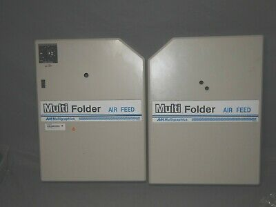 Multigraphics Model 959af Air-feed Autofolder Left And Right Covers