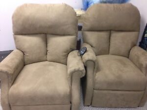 2 x Power Recliners