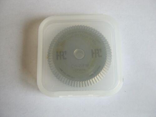 NEW HPC CW-20FM key machine cutting cutter wheel HSS for HPC 1200 Series