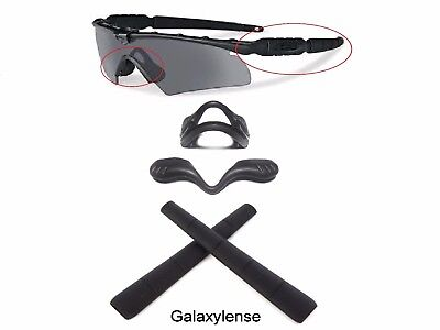 Galaxy Nose Pads + Earsocks For Oakley Si Ballistic M Frame 2.0 Z87 Black for sale  Shipping to India