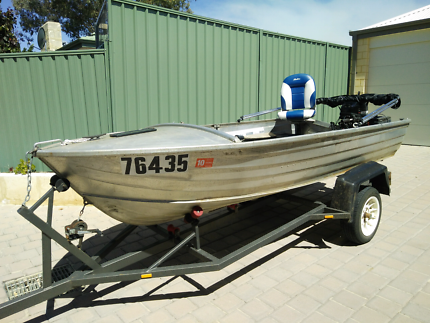 Stacer 3.8m boat - value package