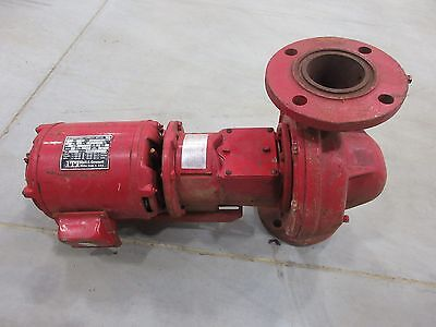 3 Itt Bell Gossett Pump With 1 Ph Motor